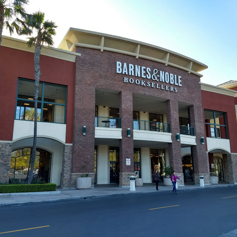 Jerry Baggett is going to a fiction book club event . At Barnes and Noble in Ventura, California.