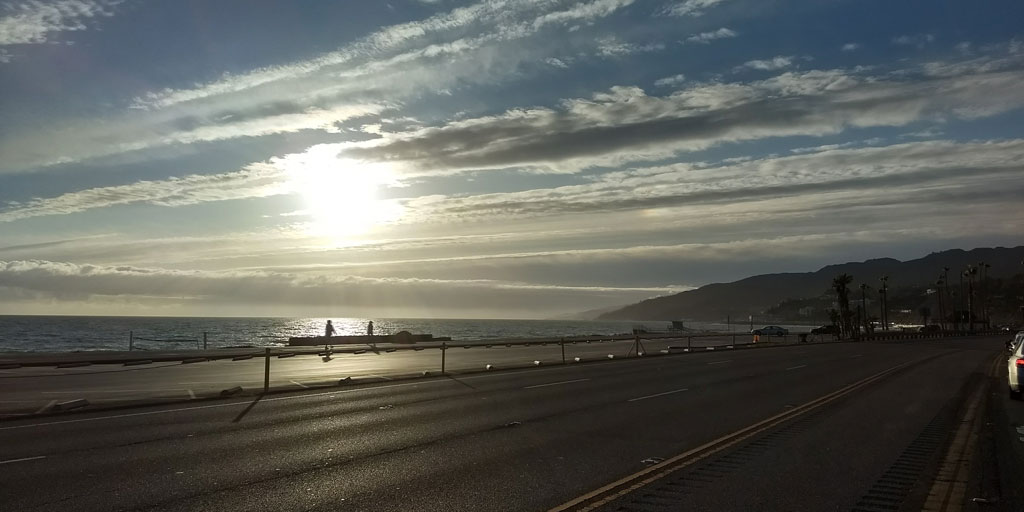 Pacific Coast Highway in Malibu