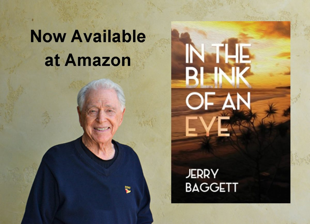 Jerry Baggett's latest book In The Blink of An Eye now available at Amazon